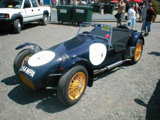 la lotus seven classic and sport cars. Black Bedroom Furniture Sets. Home Design Ideas