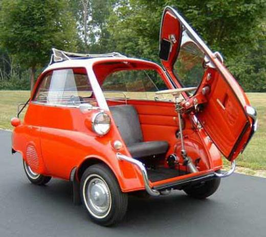 bmw isetta 1954 62 classic and sport cars. Black Bedroom Furniture Sets. Home Design Ideas